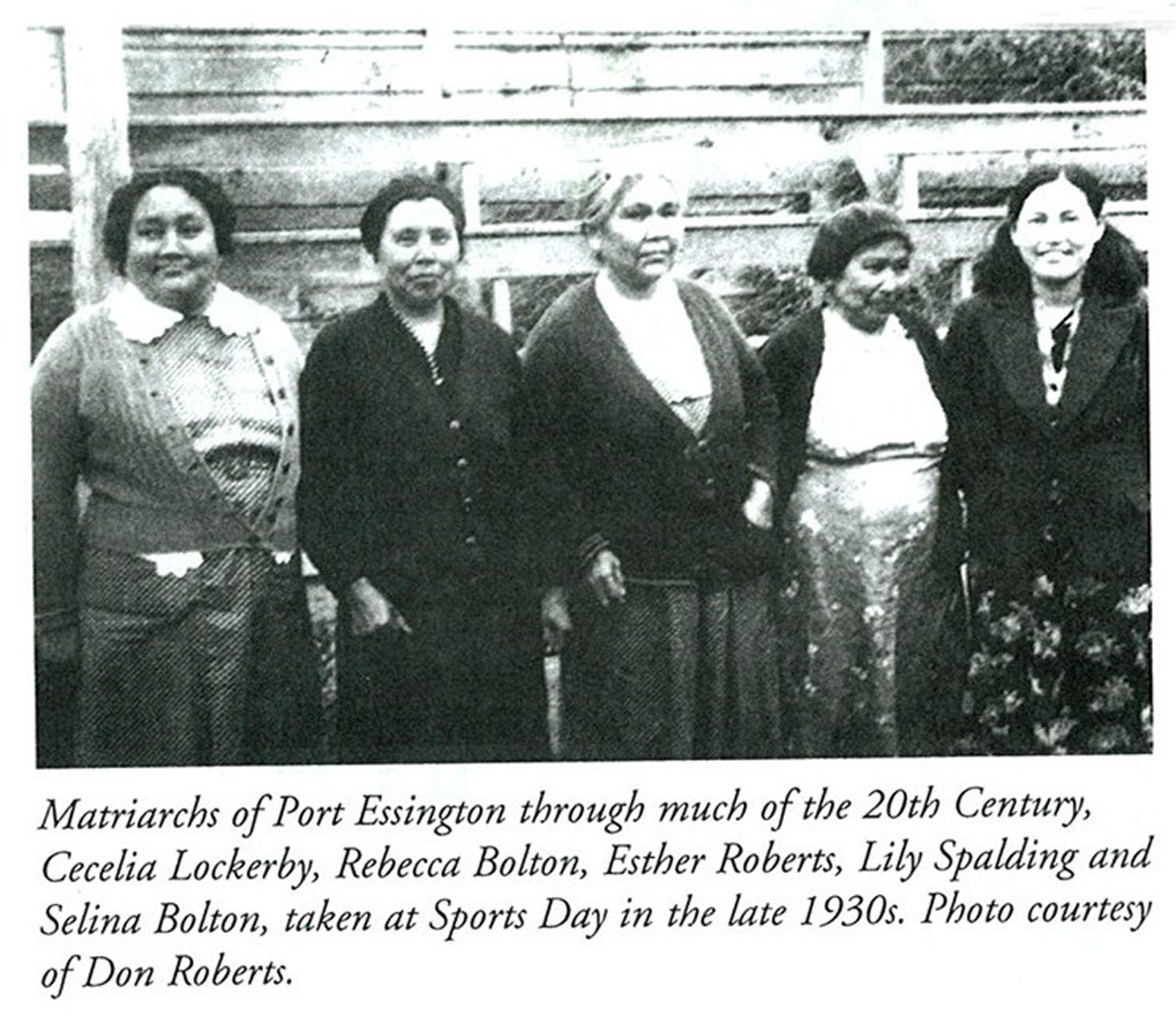 Kitsumkalum Matriarchs 1930