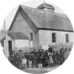 Item-B-05843---Students-at-the-Port-Essington-Day-School-BC-Archives