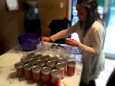 Kitsumkalum youth tsimshian way of life canning fish