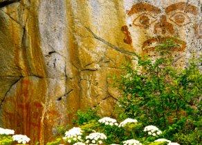 Tsimshian Tyee Rock Painting