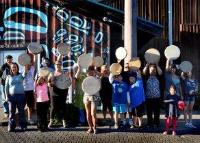 Kitsumkalum Drum Making