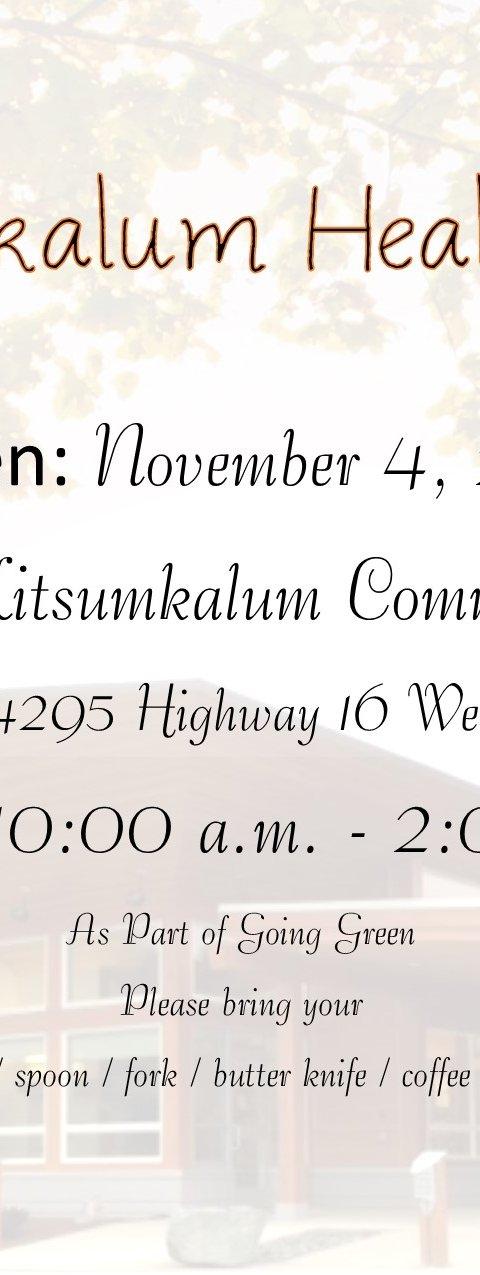 Kitsumkalum health-fair-oct-2016