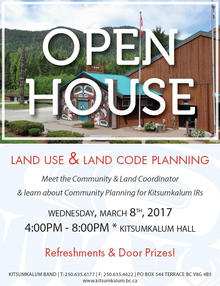 Land Use Open House