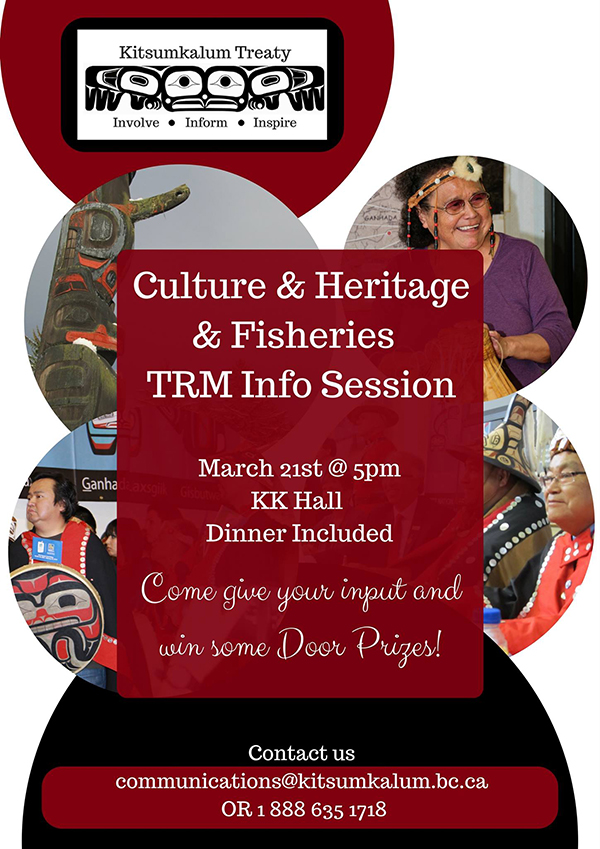 Culture, Heritage & Fisheries TRM Info. Session