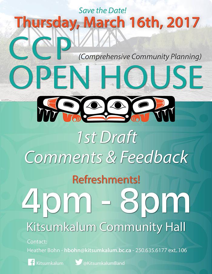 CCP Open House Invitation: March 16, 2017