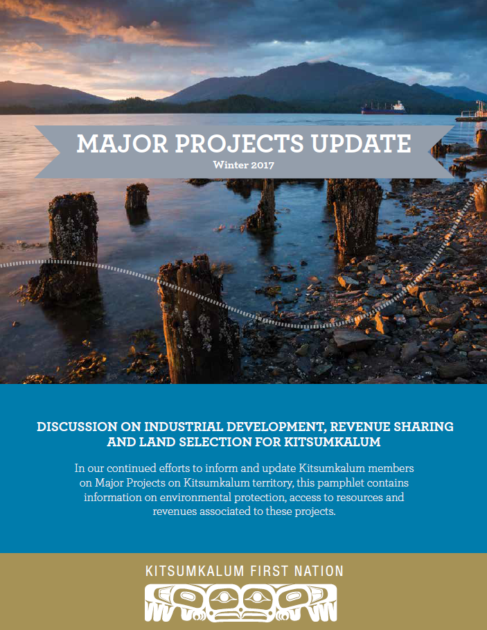 Kitsumkalum Major Projects Winter 2017 Update