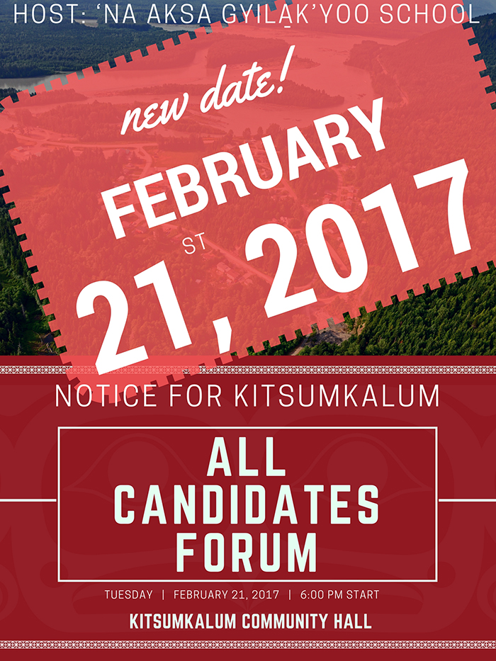 ** NEW DATE** All Candidates Forum – February 21, 2016