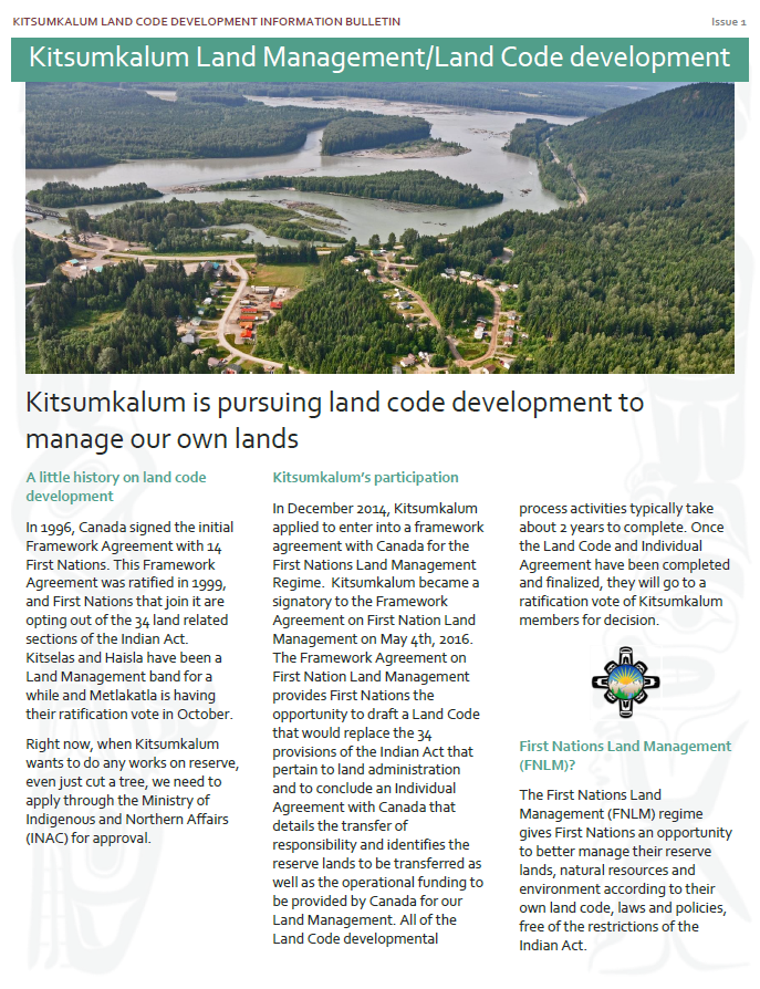 Land Code Development