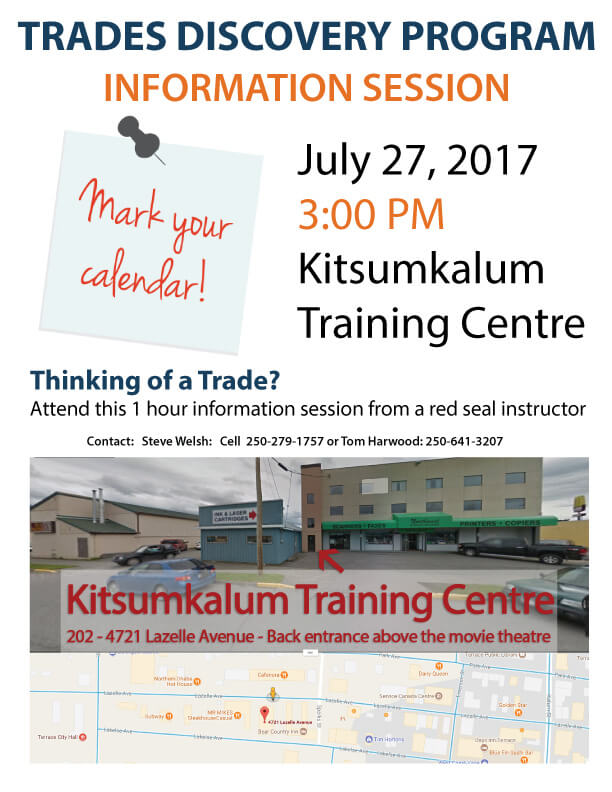 Kitsumkalum Trades-Training-July-6-2017-notice
