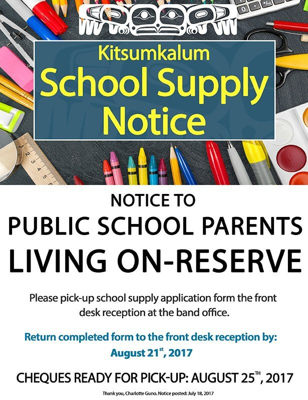 Kitsumkalum 2017 school-supply-notice