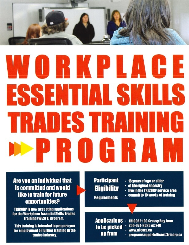 Workplace Essential Skills Trades Training Program