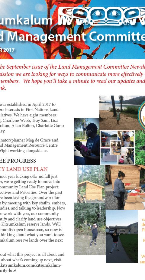 Kitsumkalum land committee sept.2017