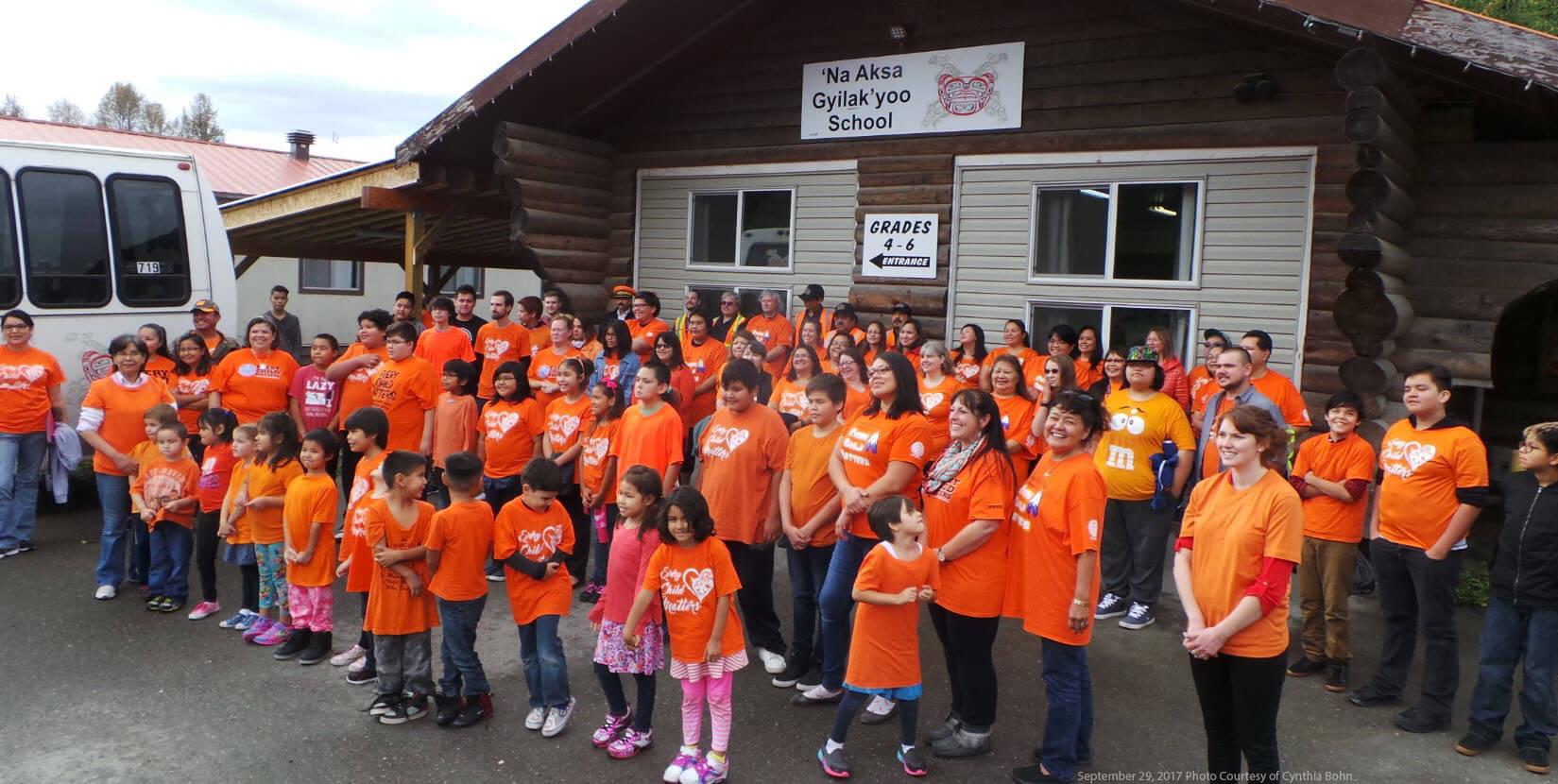 Every Child Matters – Orange Shirt Day in Kitsumkalum