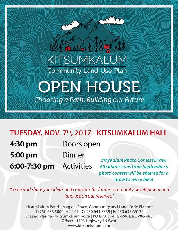 Community Land Use Plan Open House Nov. 7