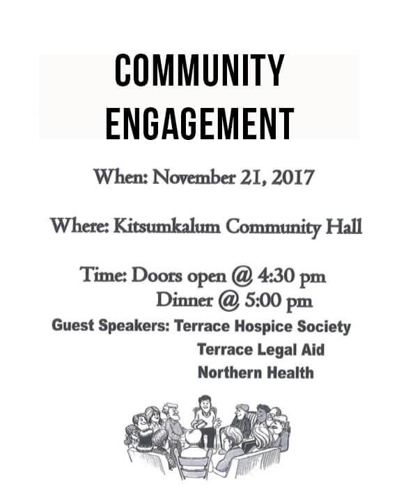 Community Engagement – Health Guest Speakers NOV. 21st