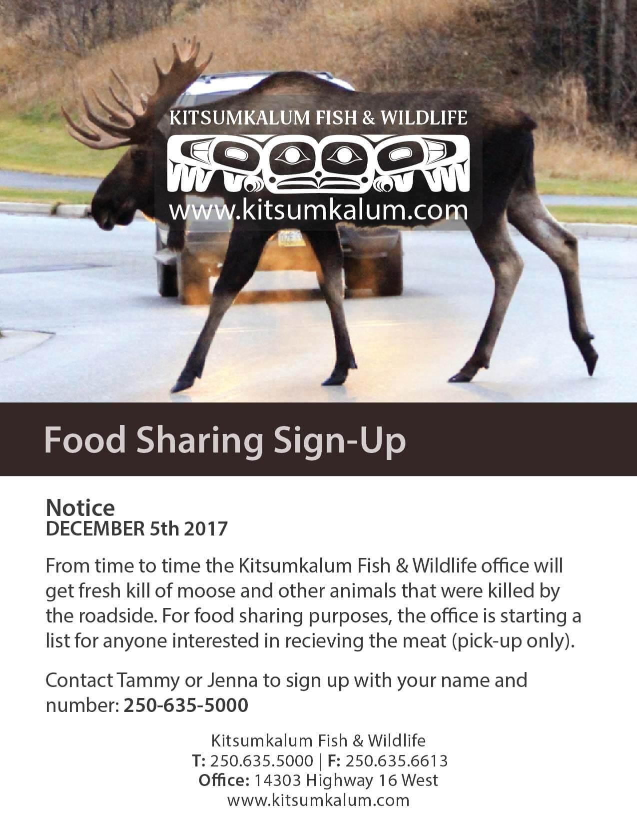 Food Sharing Sign Up