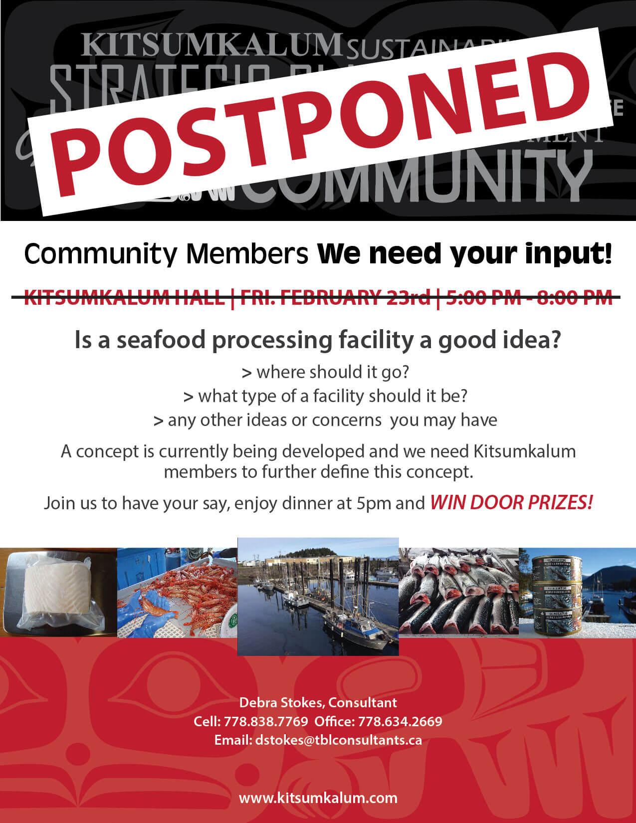 Community Input Needed – Feb. 23rd