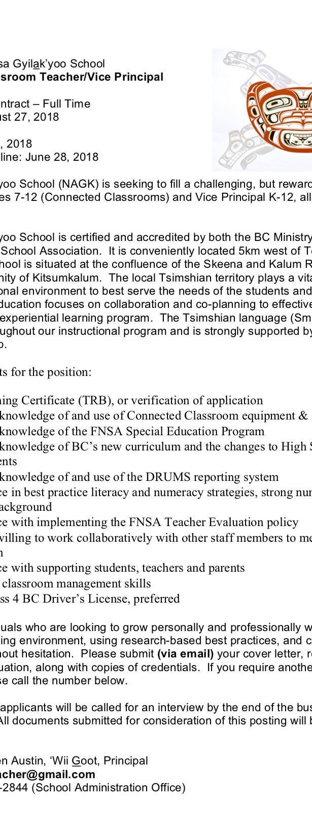 Education Kitsumkalum A Galtsap Community Of The Tsimshian Nation
