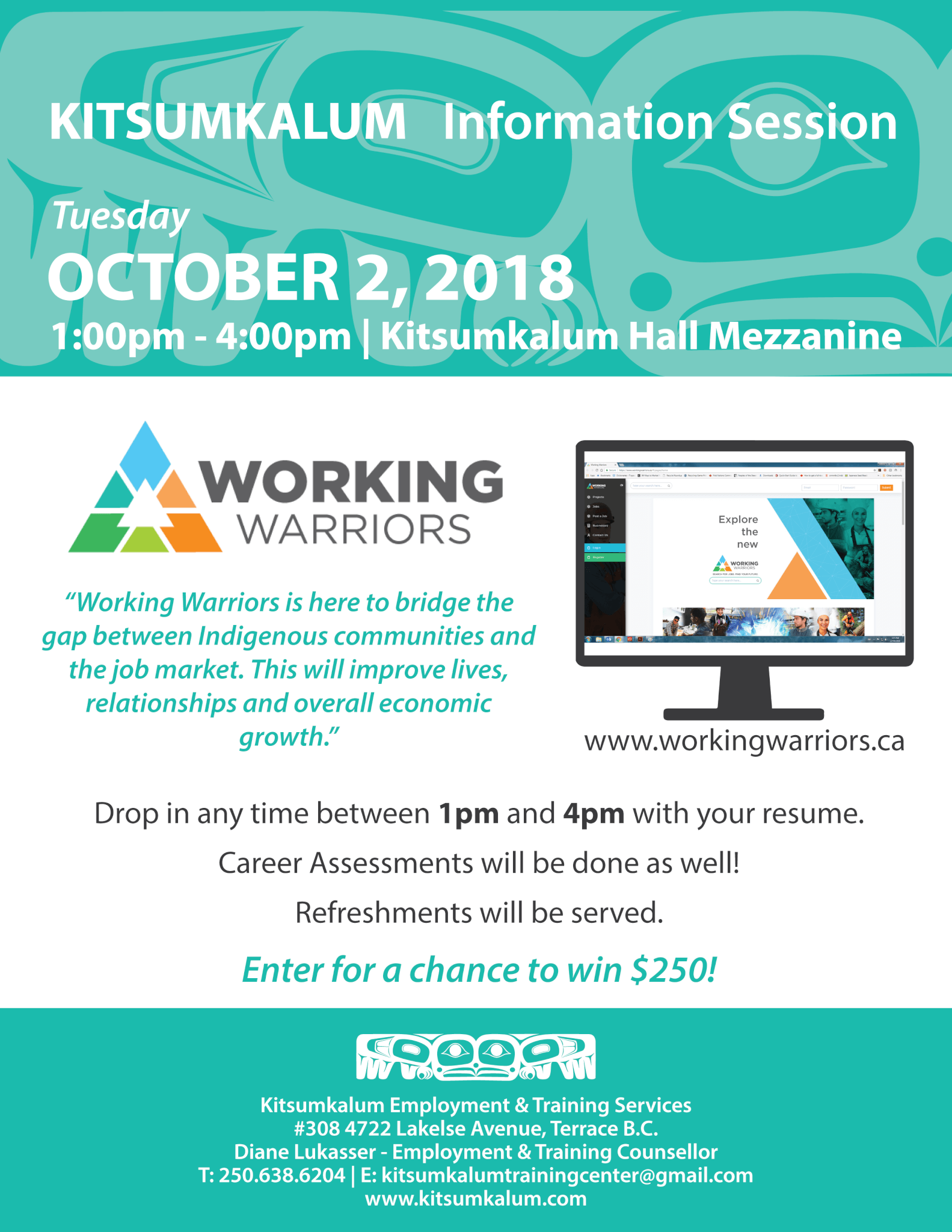 Working Warriors Information Session