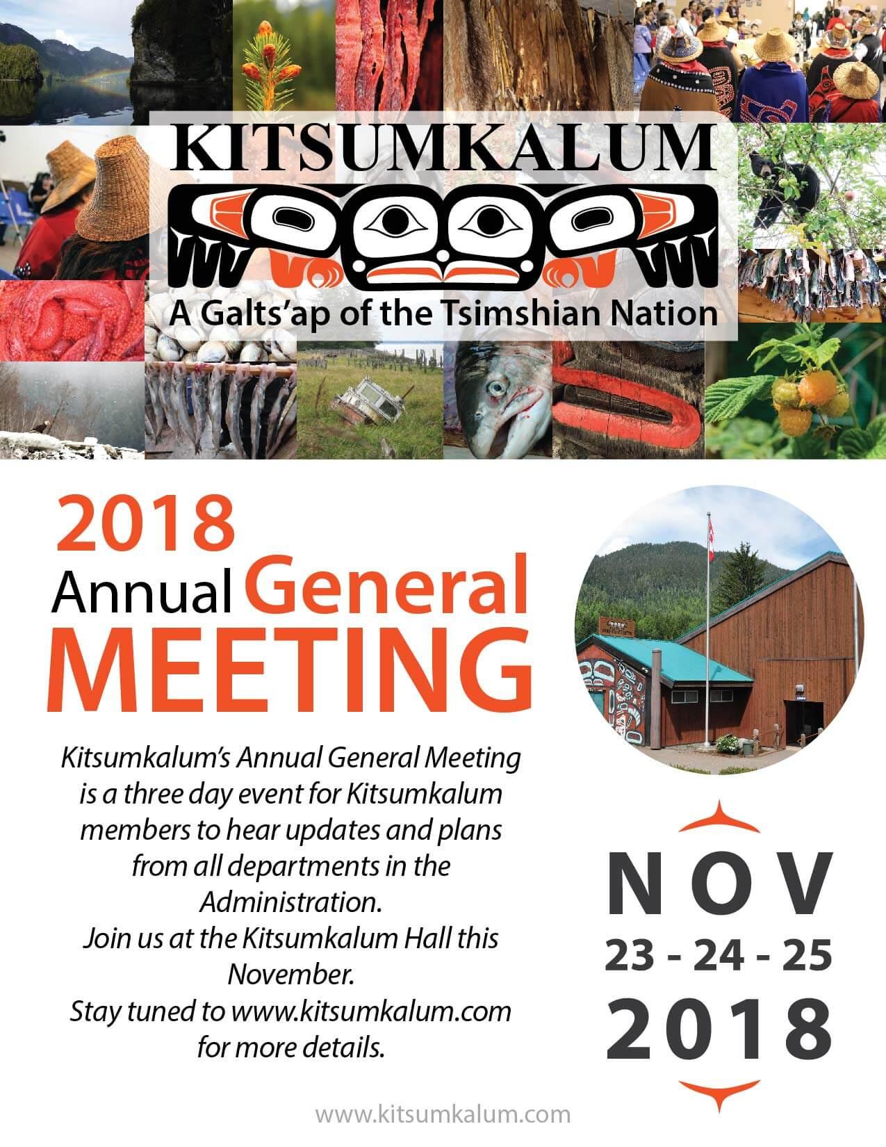 2018 Annual General Meeting held in November