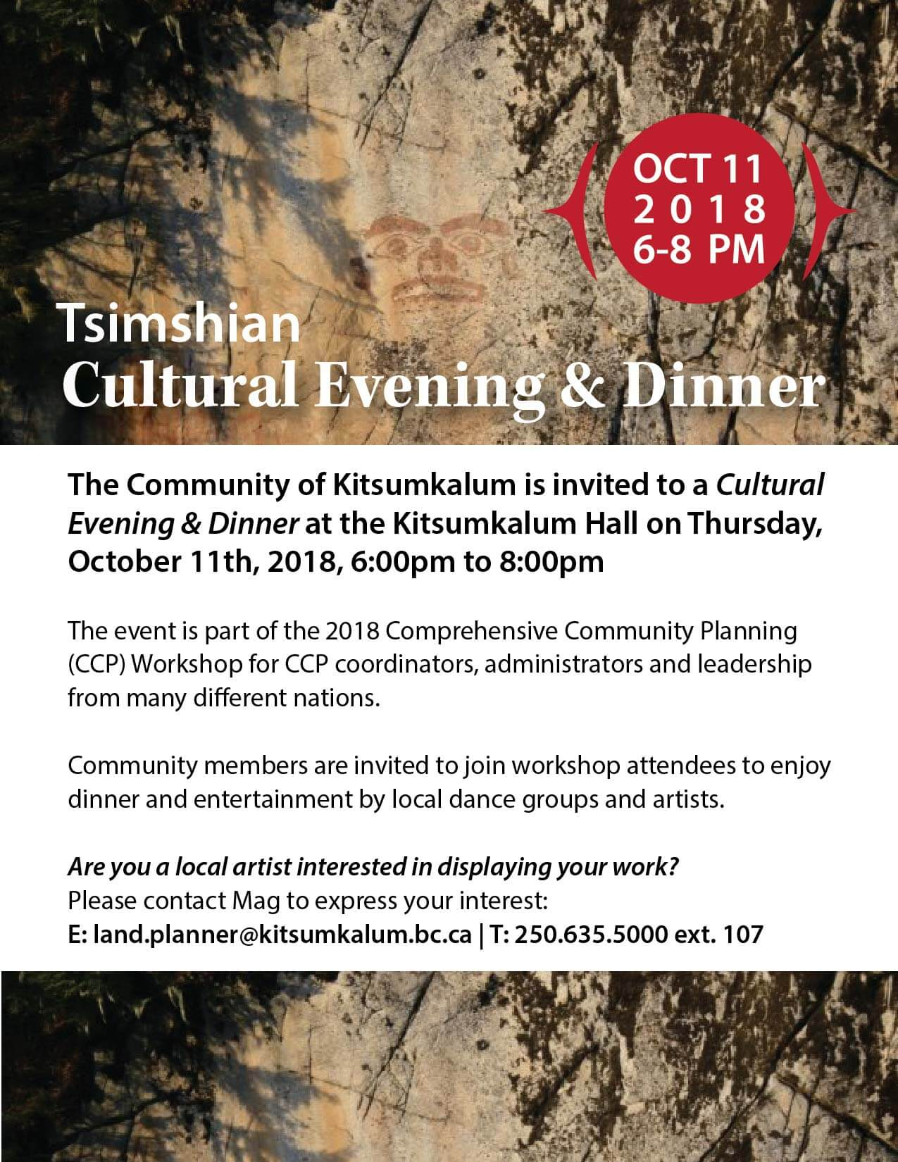 Cultural Evening and Dinner October 11