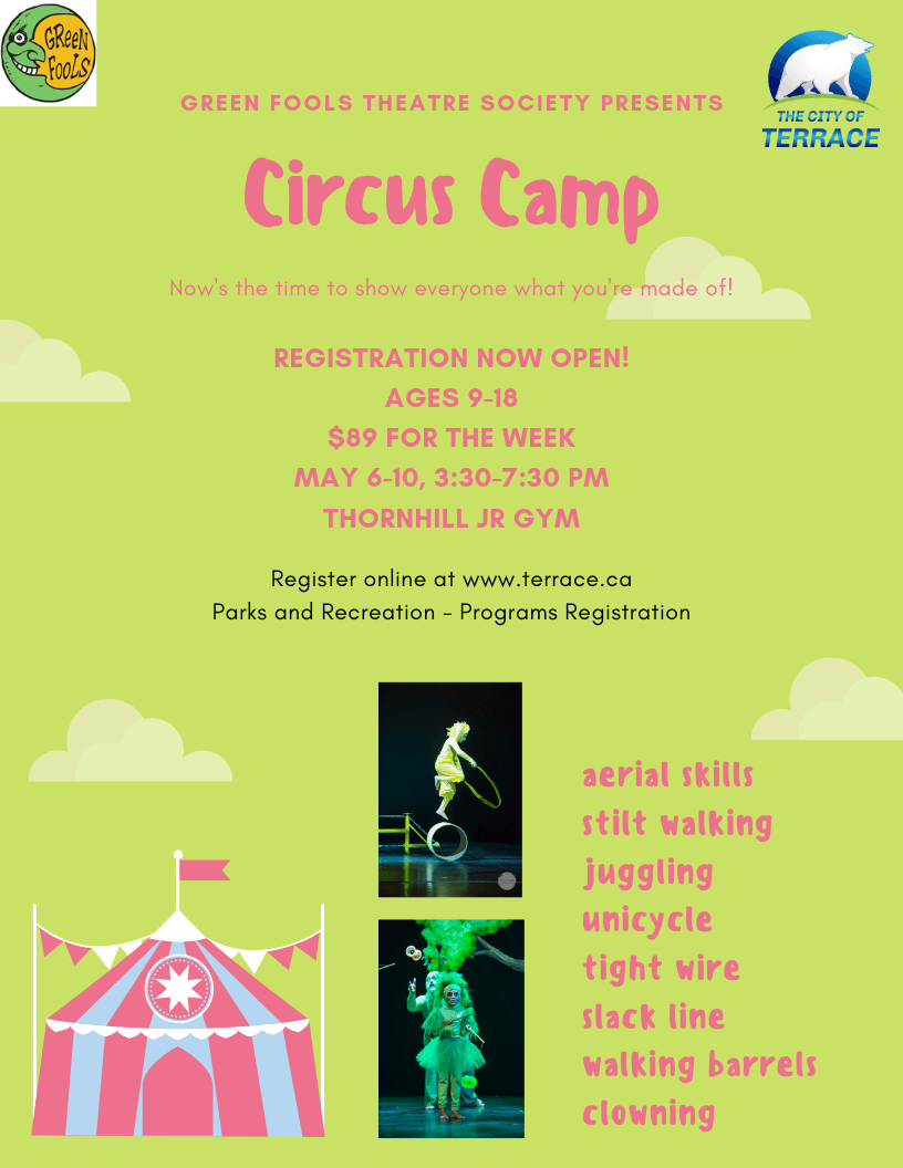 Register for Circus Camp
