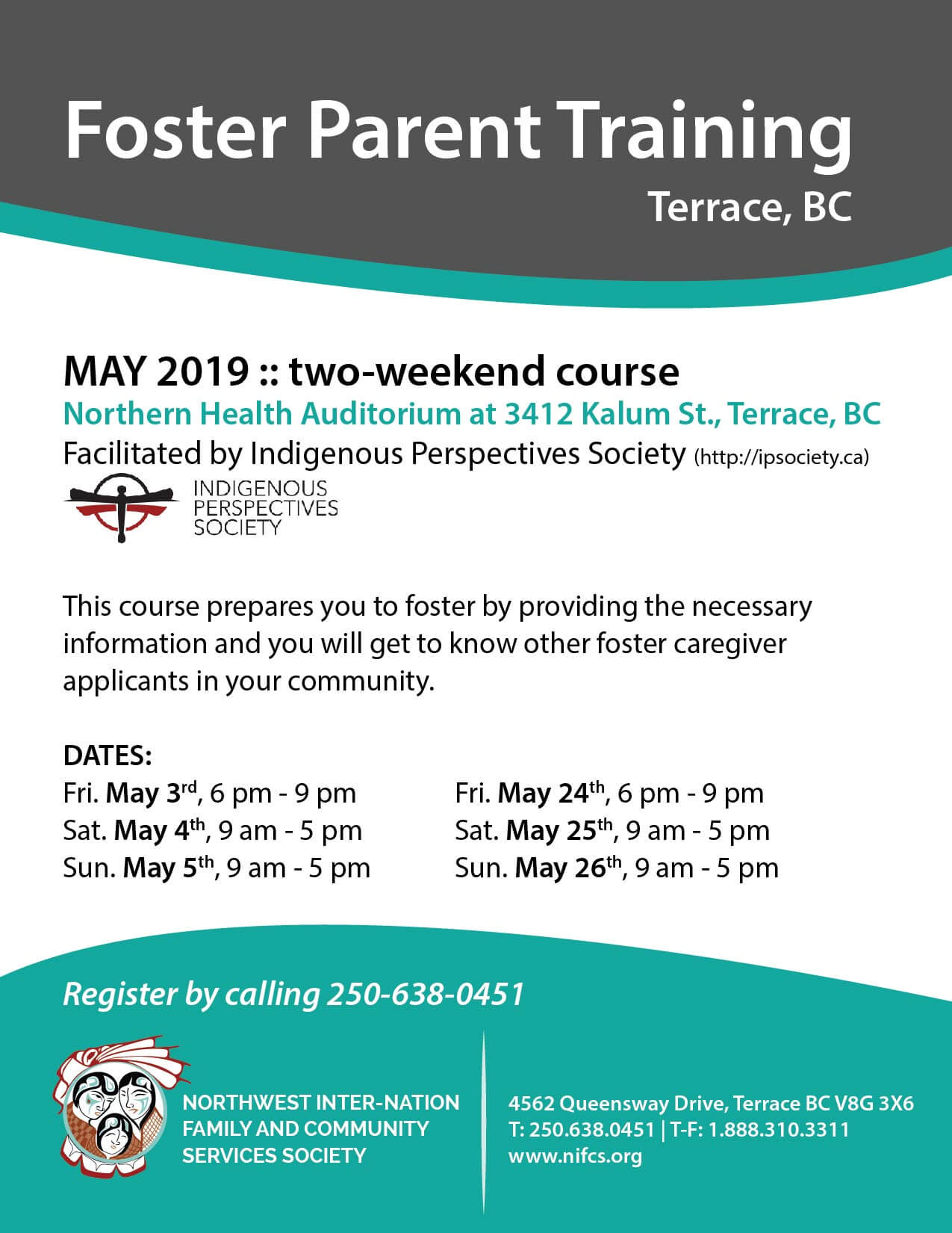 Foster Parent Training May 2019 Terrace