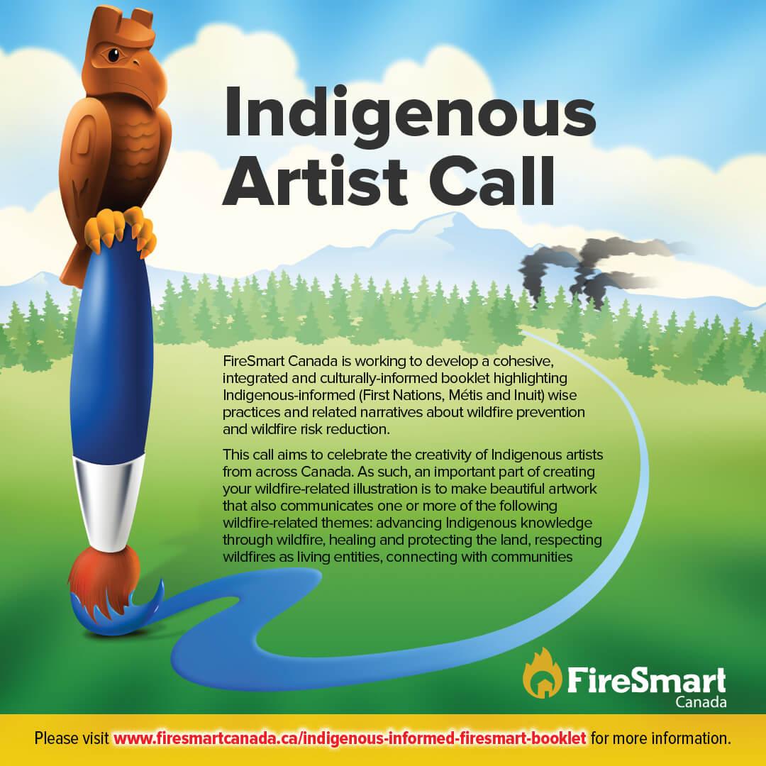 Indigenous Artist Call – FireSmart Canada