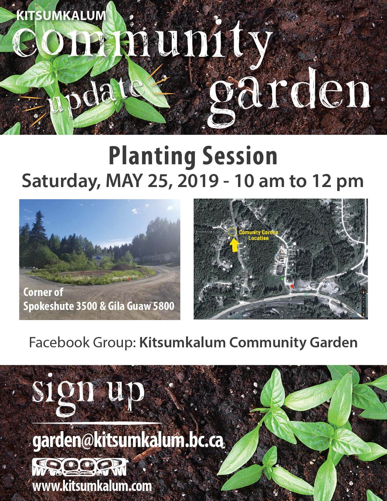 Planting Session – Community Garden MAY 25