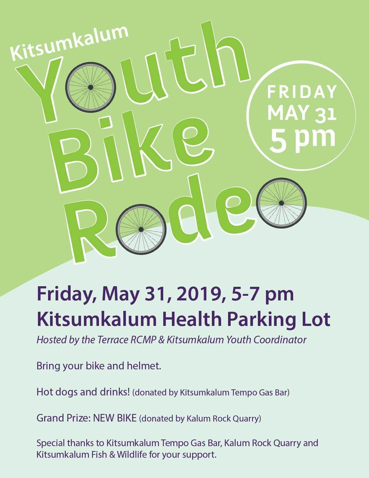 Kitsumkalum Youth Bike Rodeo