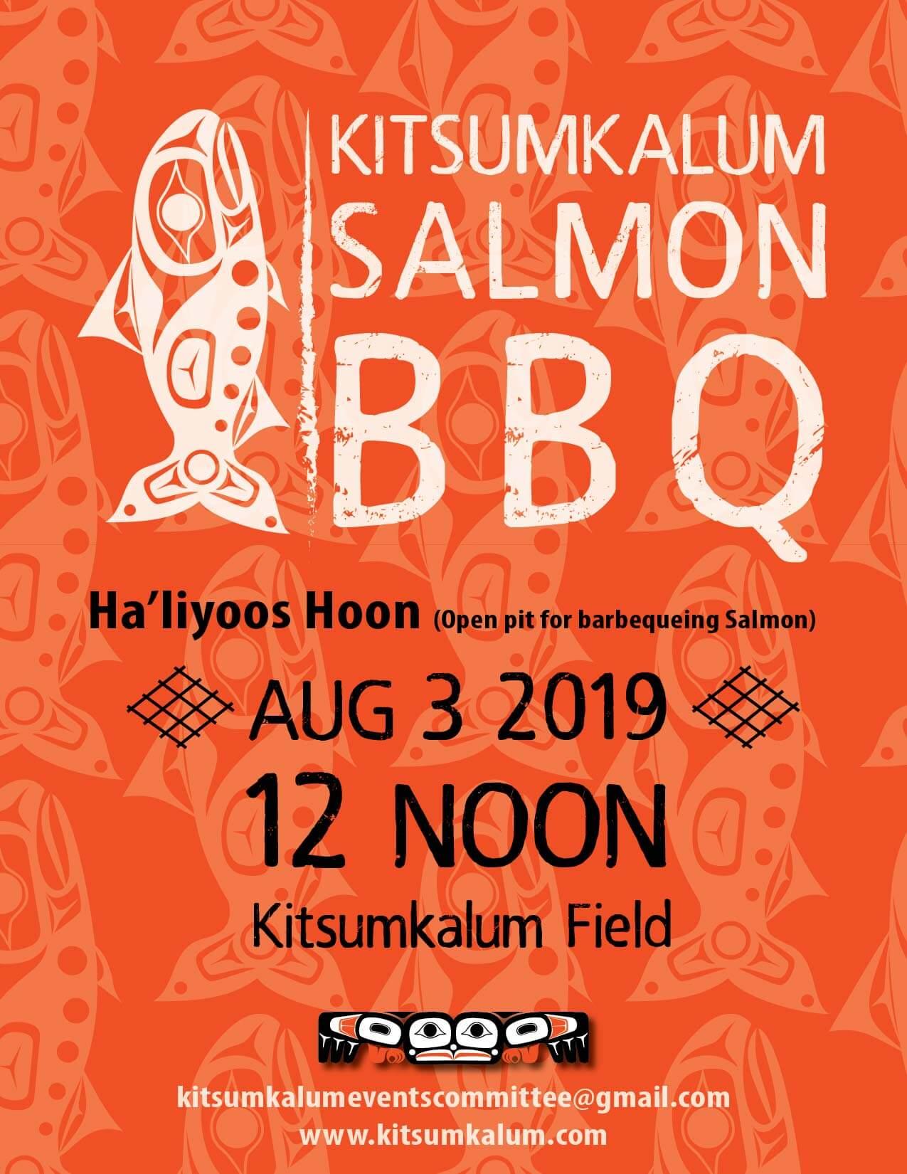 Kitsumkalum Salmon BBQ AUG 3