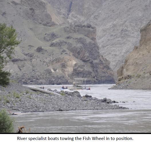 Kitsumakalum Lends Help at the Big Bar Landslide on the Fraser River