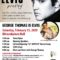 ELVIS Tribute Show by George Thomas FEB 15