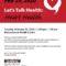 Let's Talk Health: Heart Health FEB 25