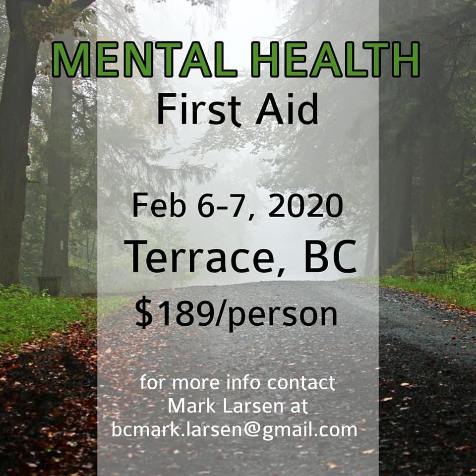 Mental Health First Aid Terrace