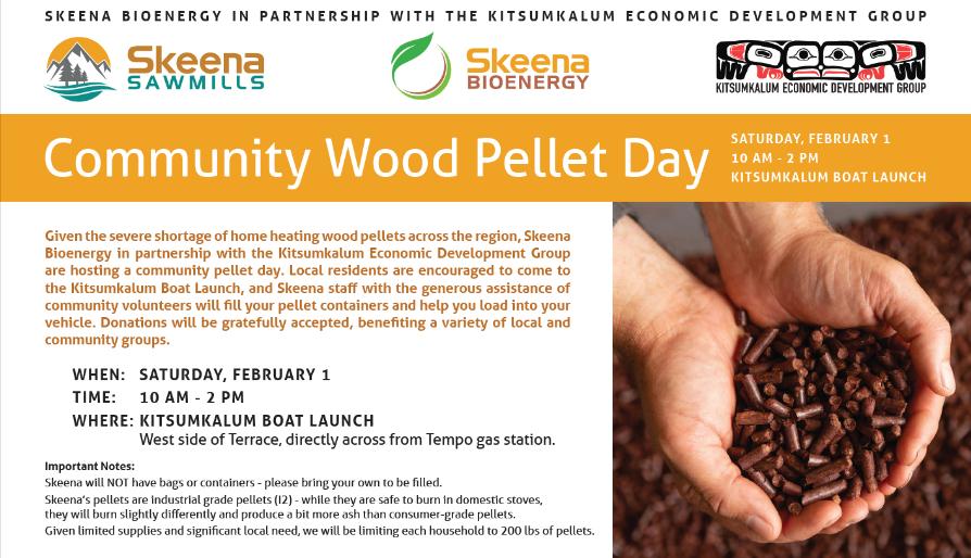 Community Wood Pellet Day FEB 1st