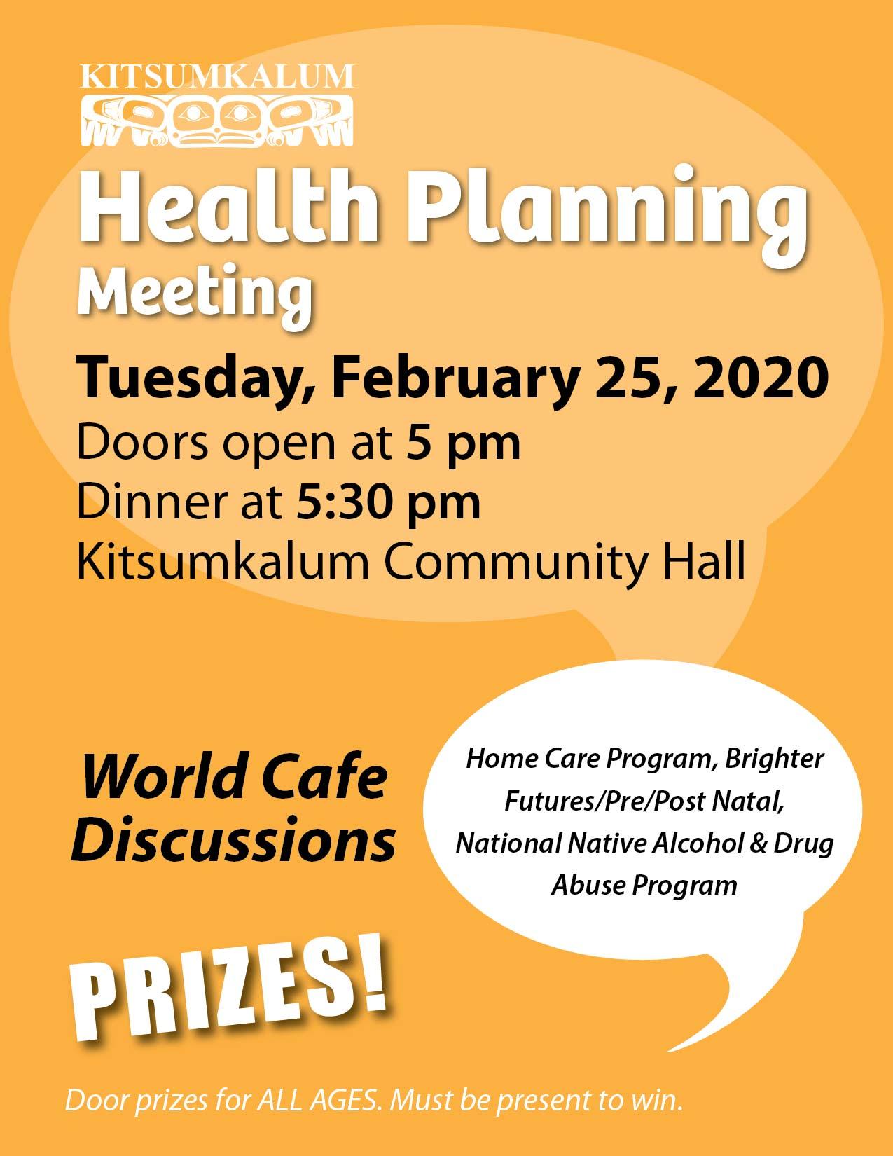 FEB 25 Kitsumkalum Health Planning Meeting