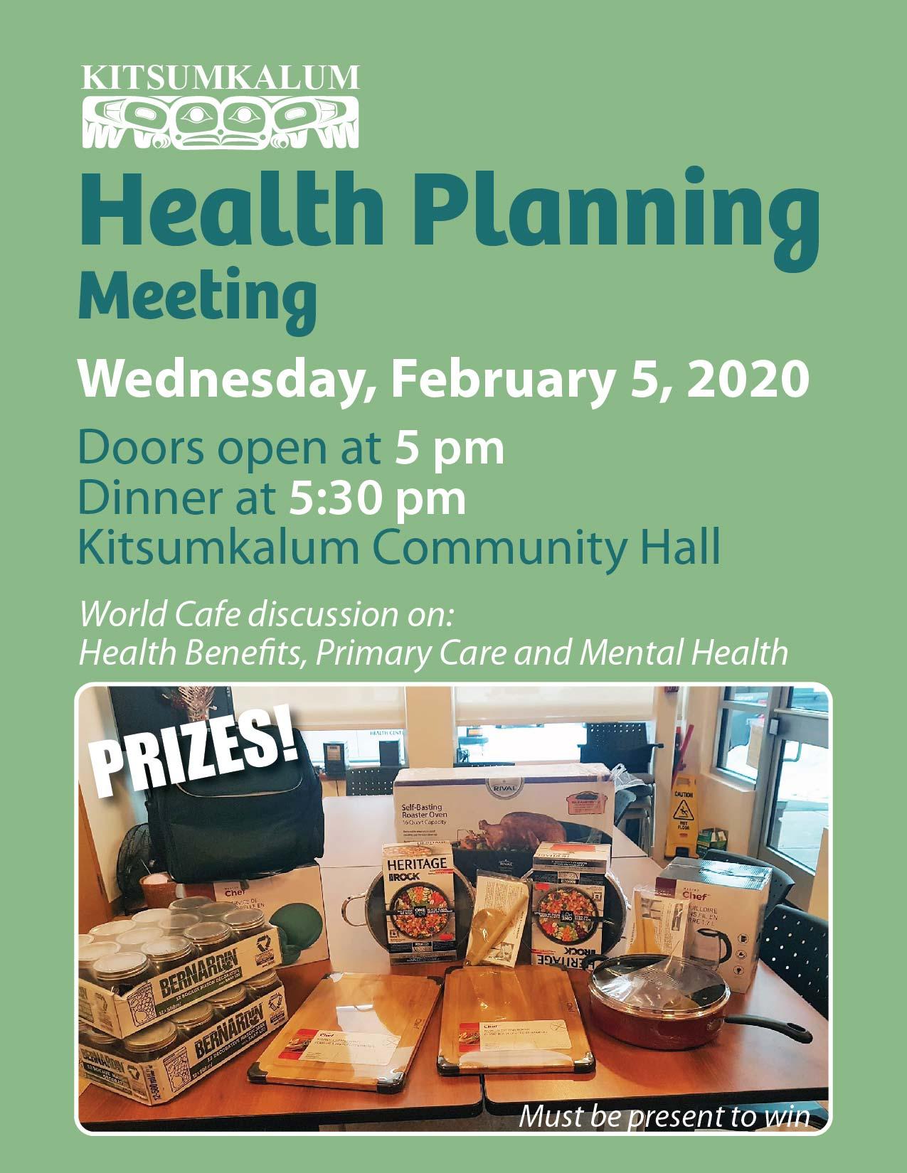 Kitsumkalum Health Planning Meeting FEB 5