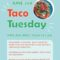 Taco Tuesday – Kitsumkalum Community Lunch NEW DATE June 2nd