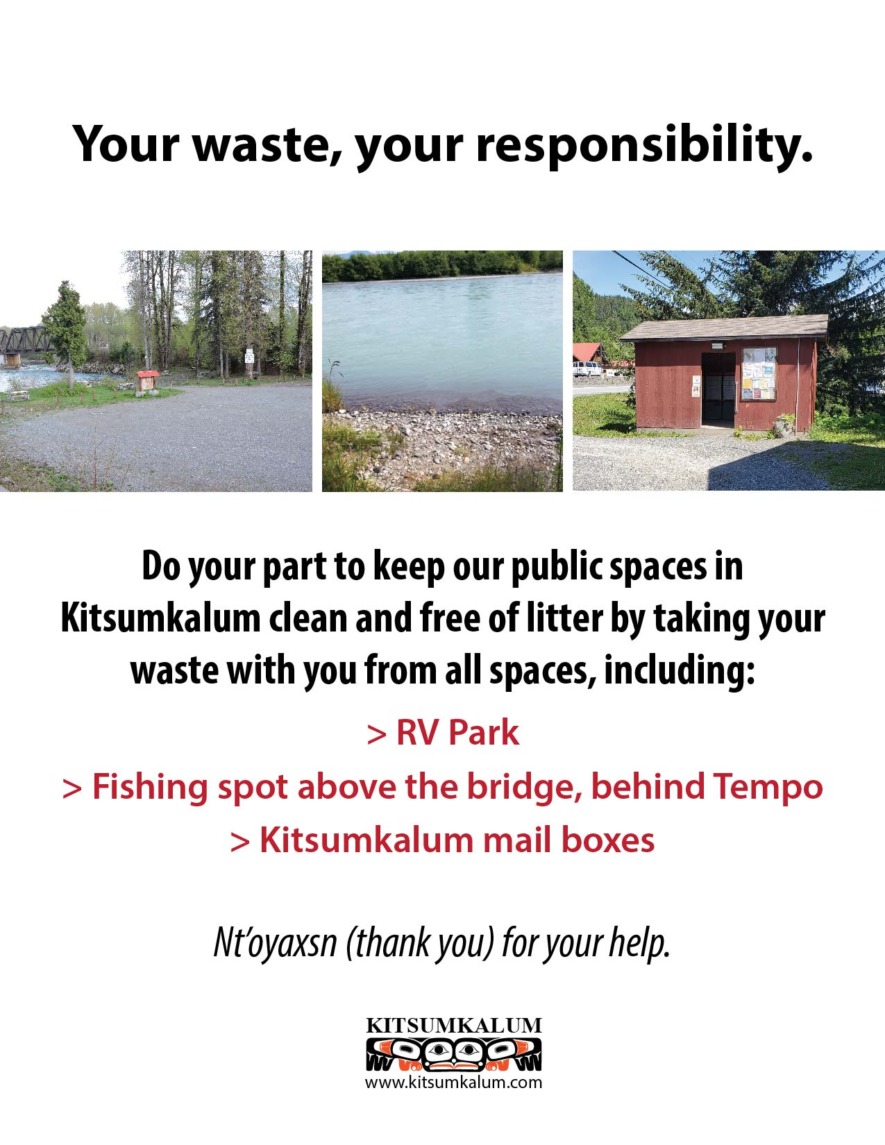 Your Waste Your Responsibility