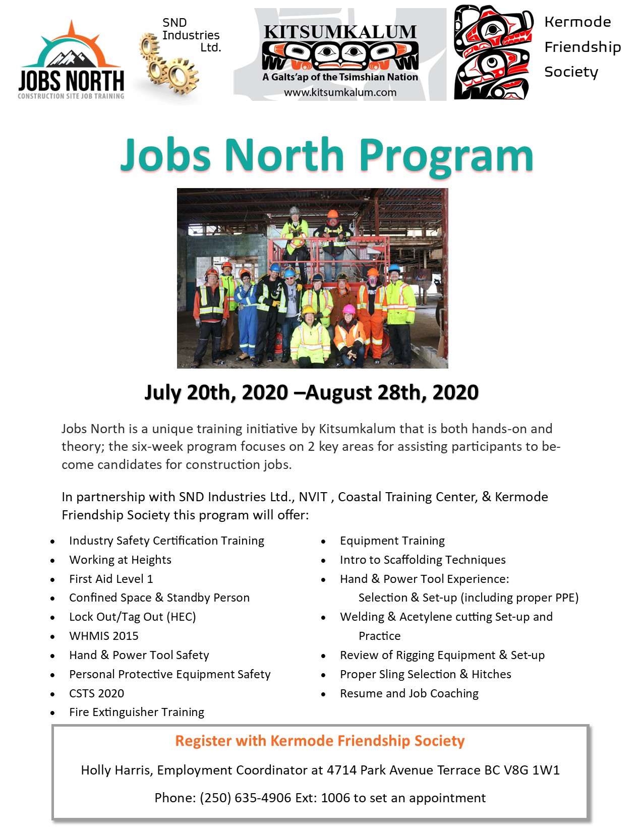 Jobs North – Construction Training Initiative