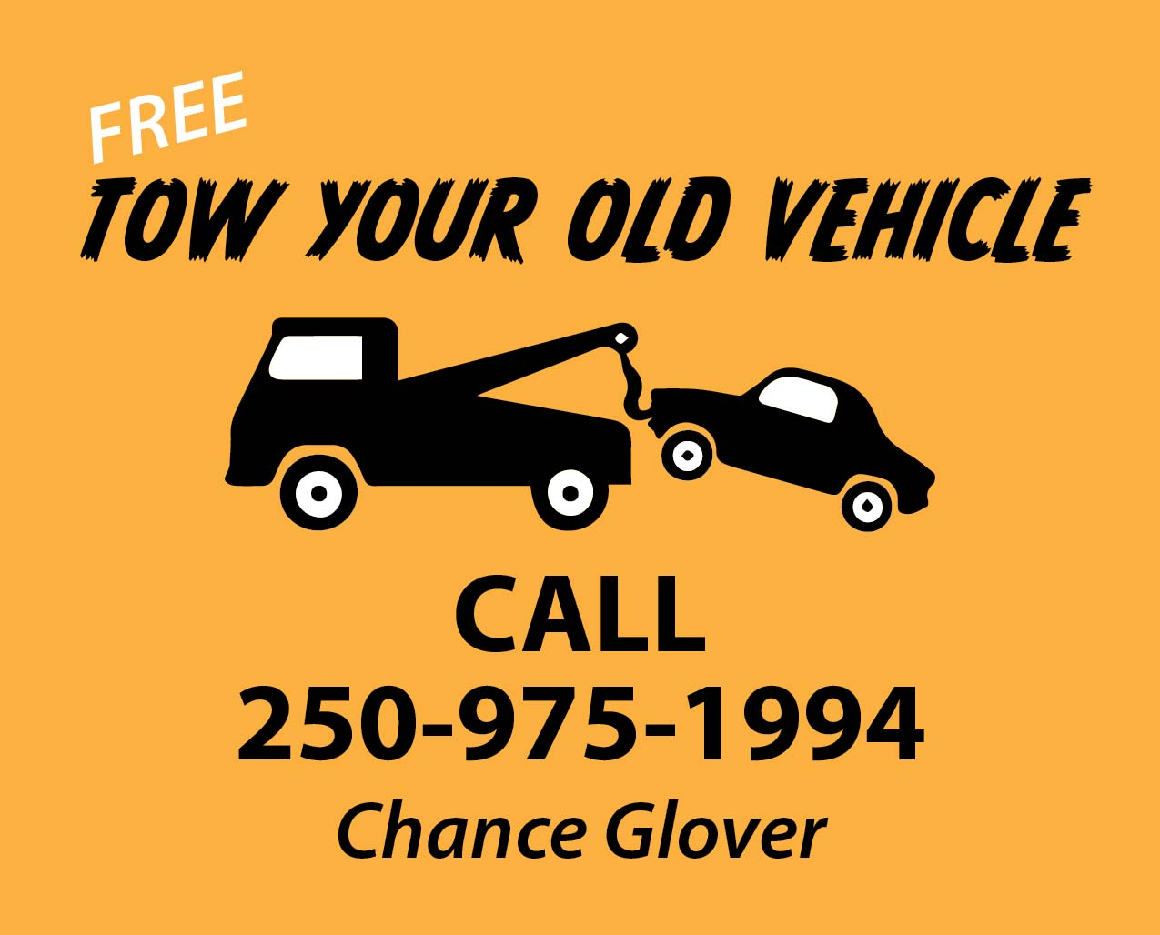 Have Your Old Vehicles Towed