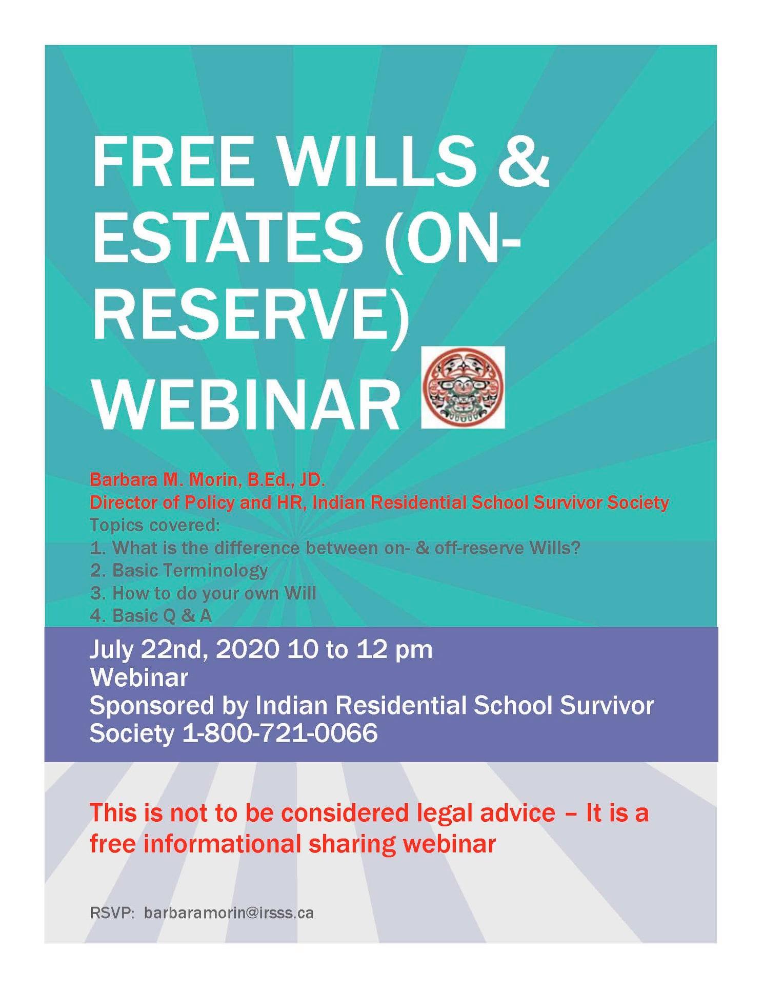 Wills & Estates Webinar