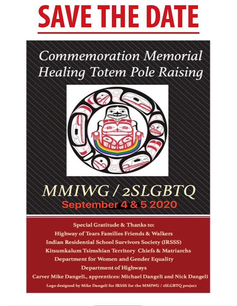 Save the Date: Healing Totem Pole Raising