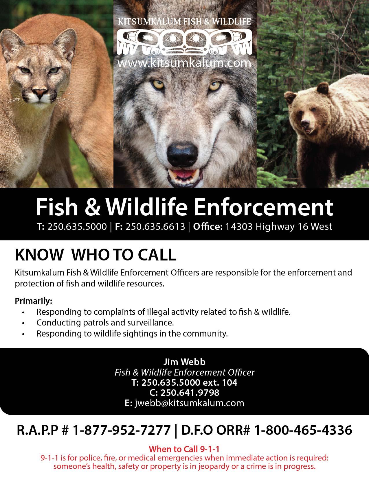 Fish & Wildlife Enforcement