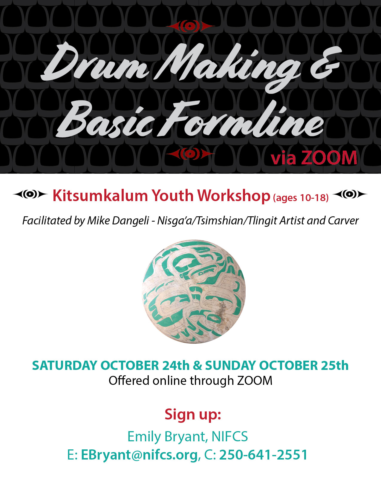 Youth Drum Making OCT 24th 25th