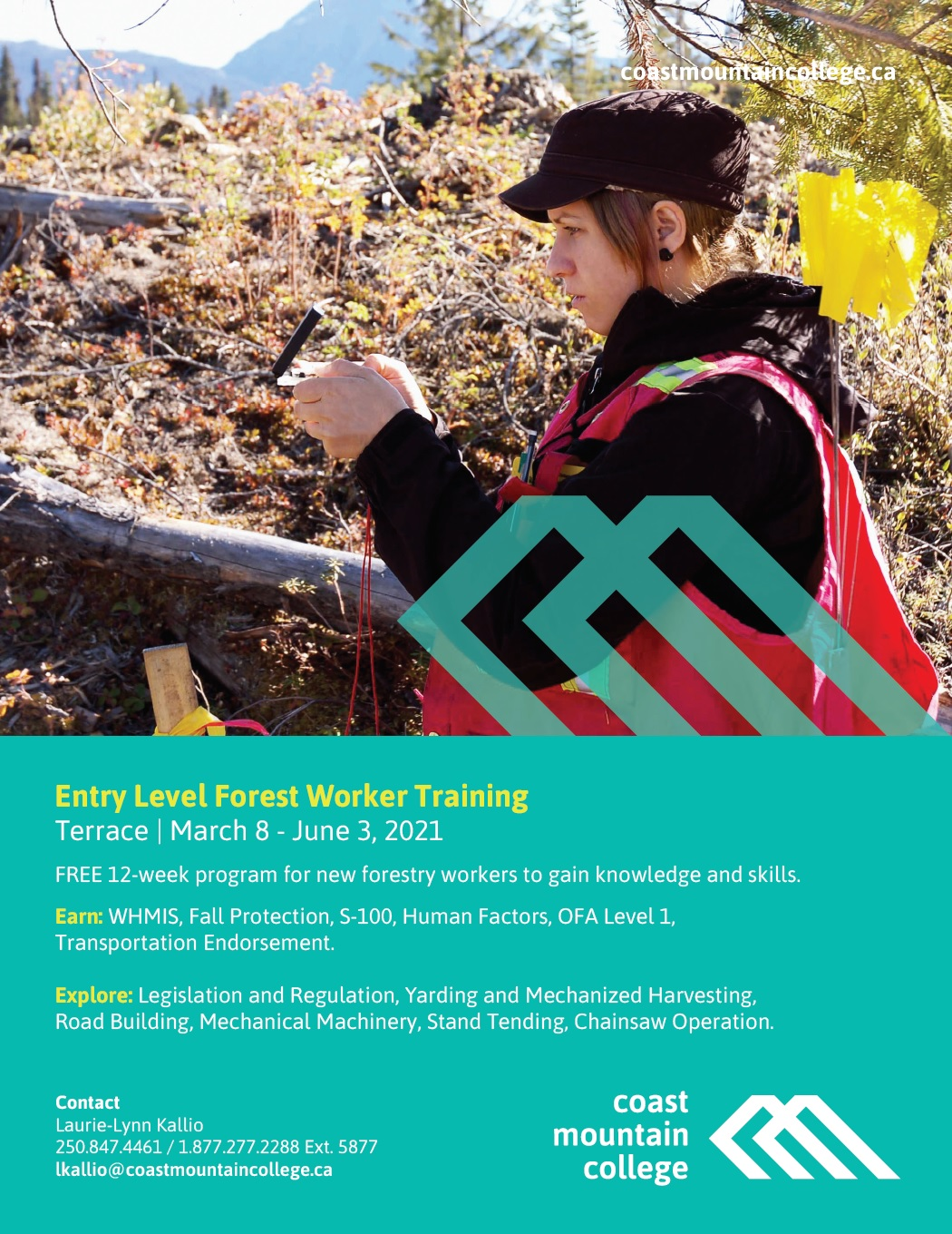 Entry Level Forest Worker Training CMC