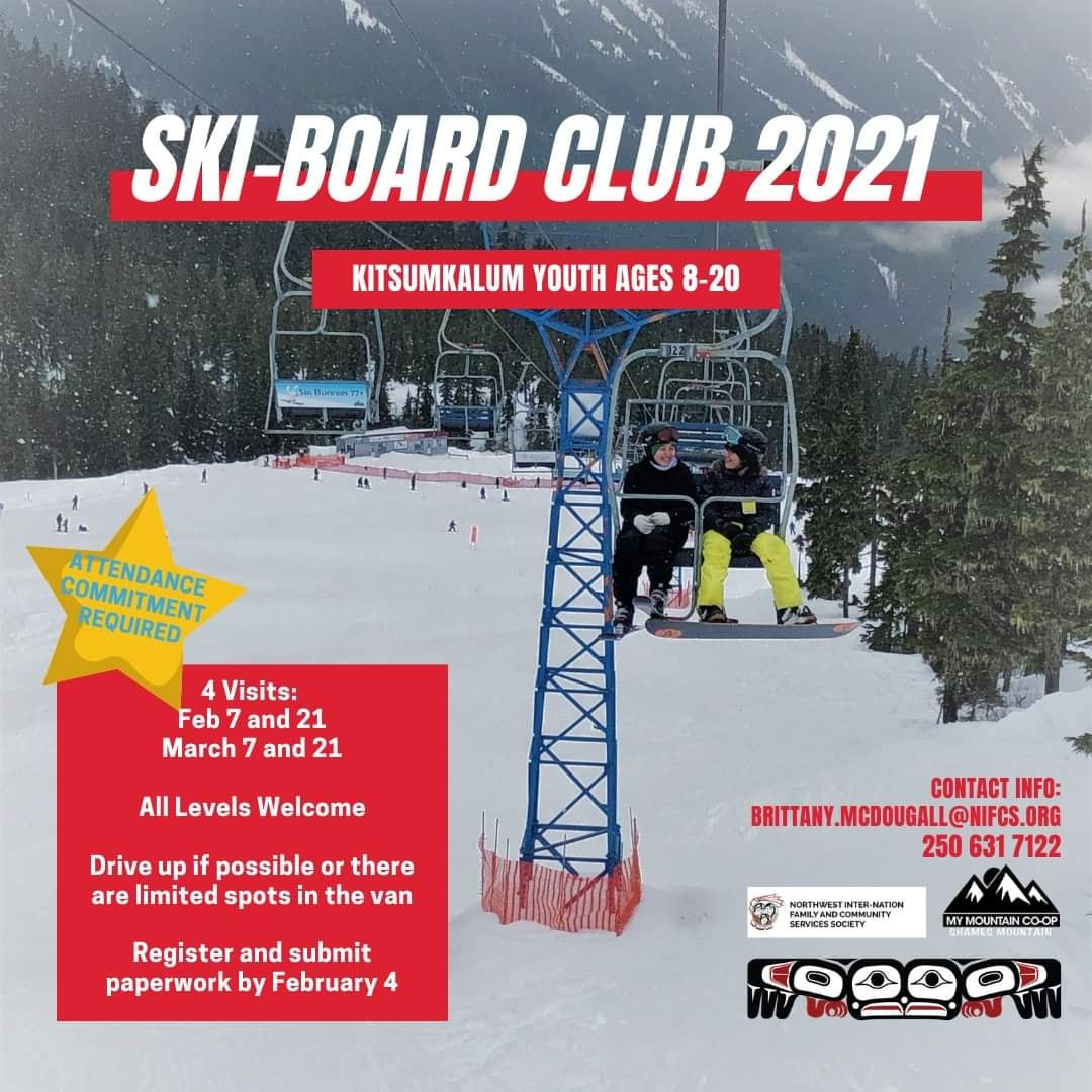 Ski-Board Club 2021 – Kitsumkalum Youth