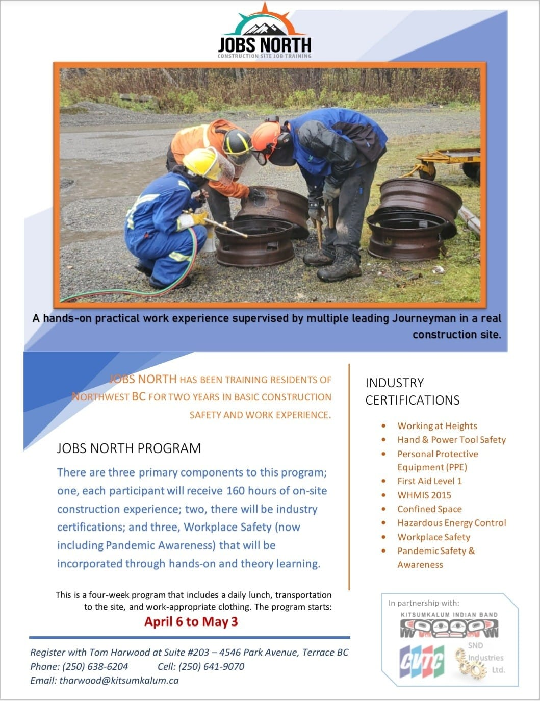 Jobs North Program