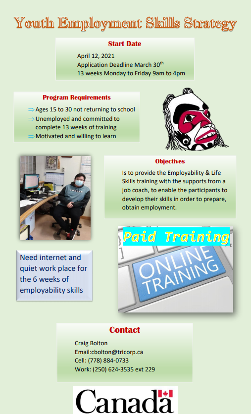 Youth Employment Skills Strategy – Tricorp